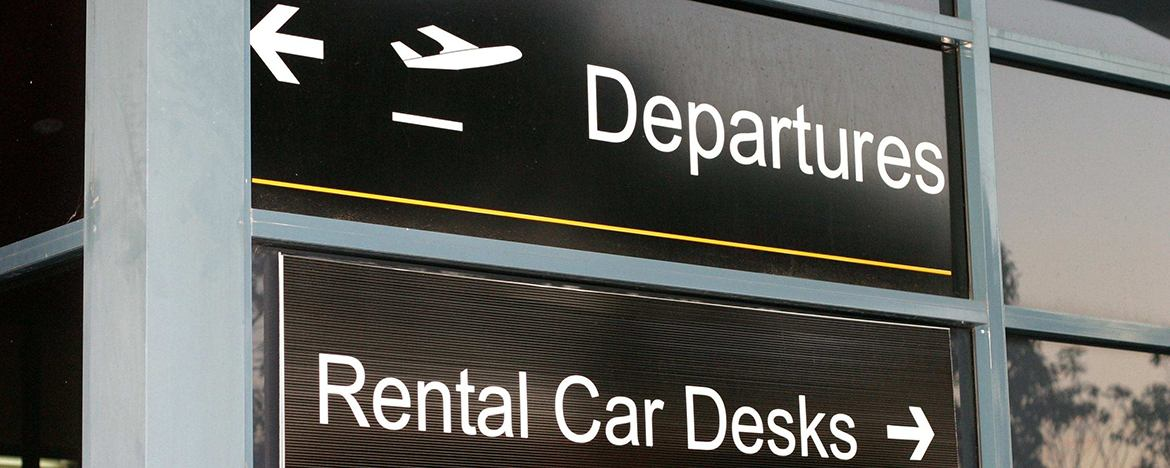 Don't rent a car at the airport